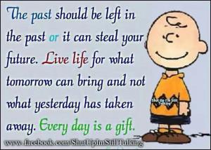 Charlie Brown on Living Life