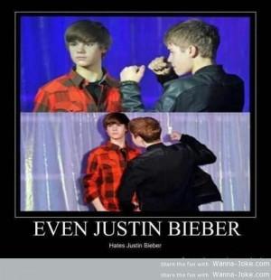 Justin Bieber Hate Wanna Joke