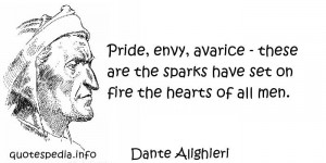 Famous Quotes Reflections Aphorisms About Heart Pride Envy picture