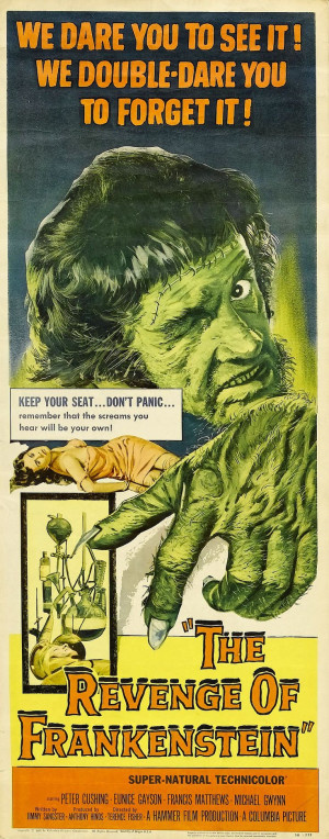 ... Terence Fisher and starring Peter Cushing as the titular mad scientist