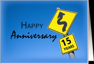 15th Year Business Anniversary, Company, Corporate Congratulations ...