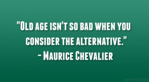 Maurice Chevalier Quote
