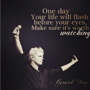 Gerard Way Quotes About Life Gerard way: