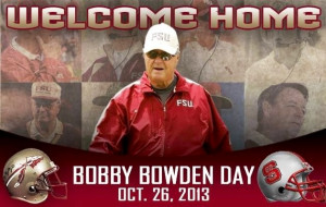 Bobby Bowden Day will be at the stadium for the FSU vs NC State ...