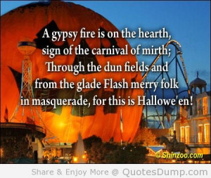 ... The Glade Flash Merry Folk In Masquerade, For This Is Hallowe'en