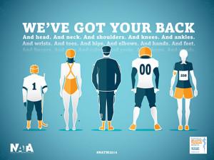 Celebrate National Athletic Training Month!
