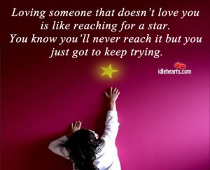 Home » Quotes » Love Quotes » Loving One Who Doesn't Love You is ...