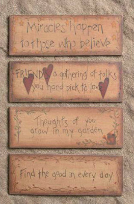 Country-and-primitive-wall-decor-Thoughts-Primitive-Country-Wood-Signs ...