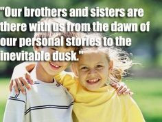 Sibling quotes More