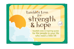 portion of the proceeds from every sale of Lunchbox Love® Strength ...