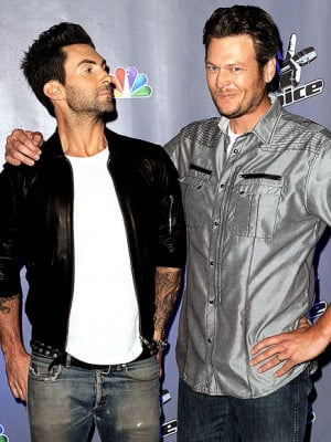 Friendly rivalry? Blake Shelton finds his life's purpose taunting Adam ...