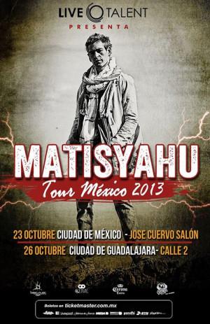 Matisyahu abre fecha en Monterrey