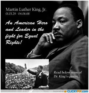 martin luther king jr quotes years