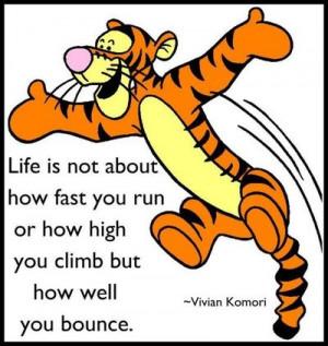 Preach it, Tigger! :)