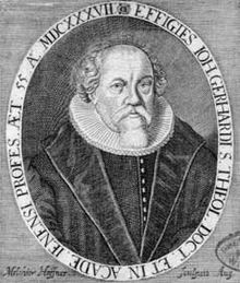 Johann Gerhard , 1582-1637
