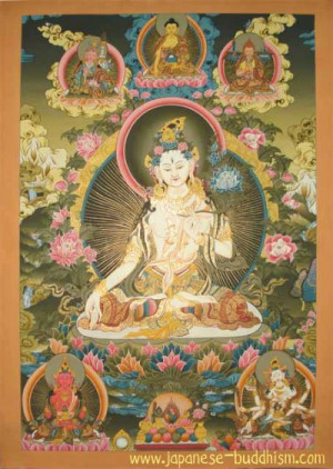 The Buddhist Pantheon consists of a multitude of dieties and Buddhas