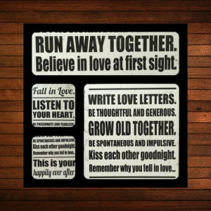 Black and white canvas quotes