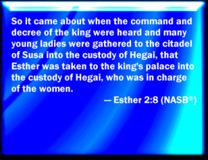 Esther From Bible Verses
