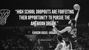 High school dropouts are forfeiting their opportunity to pursue the ...