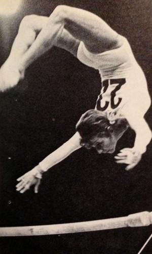 Olga Korbut Vintage gymnastics