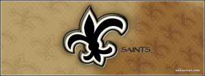New Orleans Saints Facebook Cover