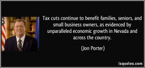 Tax cuts continue to benefit families, seniors, and small business ...