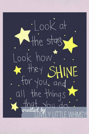 Coldplay Quote Hand drawn Yellow 8x10 by bowandarrowart on Etsy, $15 ...
