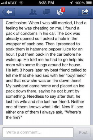 How to catch a cheating husband funny quote