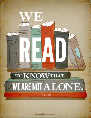 books, c.s. lewis, quote, read