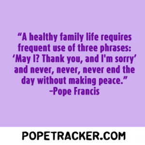 papal quote of the day pope quotes quotes Leave a comment