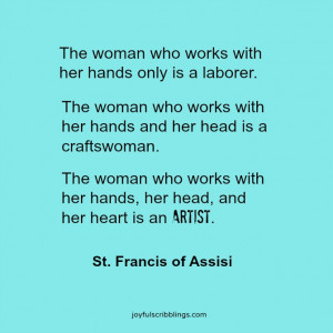 St Francis of Assisi quote