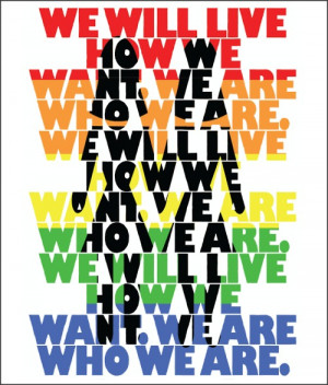 Reblog if you support GLBT!! We are people too!!! Love is love!!!