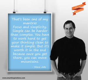 Steve Jobs Quotes – Focus and Simplicity