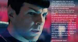 ... Spock motivational inspirational love life quotes sayings poems poetry