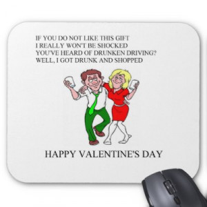 ... valentine's day poem mouse pads. tired off traditional valentine