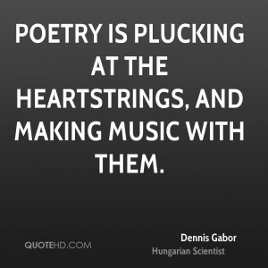 Dennis Gabor Poetry Quotes
