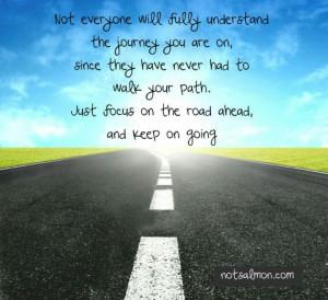 Focus on the road ahead