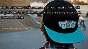 Quotes about we remain loyal because we only