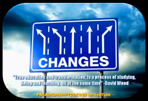 True Education by paradigm-shifting