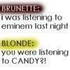 Blonde Quotes Graphics | Blonde Quotes Pictures | Blonde Quotes Photos