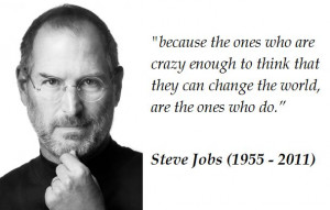 steve jobs quotes | steve jobs quote: Famous Quotes, Changing The ...