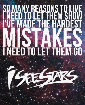 see starts mistake lyrics band iss screamo