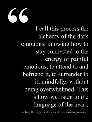 ... healing through the dark emotions the wisdom of grief fear and despair