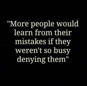 Learn from your #mistakes