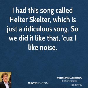 Paul McCartney Quotes