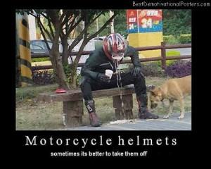 Motorcycle-Helmets-Best-Demotivational-Poster
