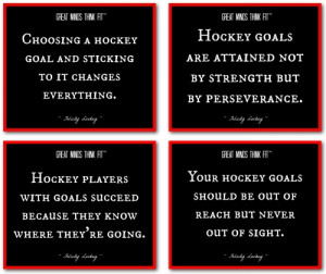 Choosing A Hockey Goal And Sticking To It Changes Everything
