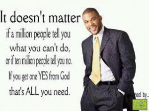 Tyler Perry on Approval