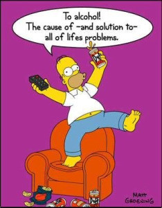 Homer Simpson's beer quotes: