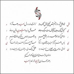 Persian Farsi Poetry Allama